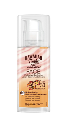 Hawaiian Tropic Lotion Silk Hydration Face Spf30 50Ml