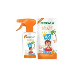 BEBAK - BEBAK GÜNEŞ SPRAY BEBE 50 175ml