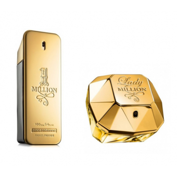 Çiftlere Özel Paco Rabanne Set ( Lady Million + One Million )