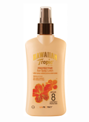 HAWAIIAN TROPIC - Hawaiian Tropic Losyon Spray Spf8 200Ml