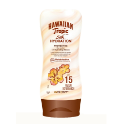 HAWAIIAN TROPIC - Hawaiian Tropic Lotion Silk Hydration Spf15 180Ml