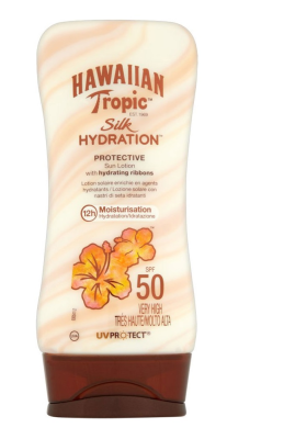 Hawaiian Tropic Lotion Silk Hydration Spf50 180Ml