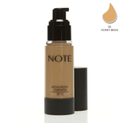 NOTE - Note Detox Protect Fondöten Spf15 Honey Beige 05 35Ml