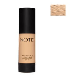 NOTE - Note Detox Protect Fondöten Spf15 Medium Beige 03 35Ml