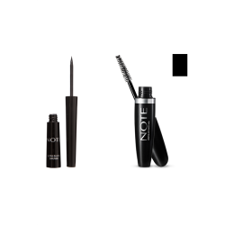 NOTE - NOTE DIPLINER BLACK+MASCARA ULTRA VOLUME BLACK
