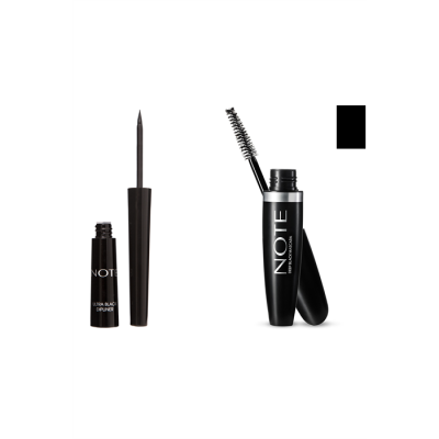 NOTE DIPLINER BLACK+MASCARA ULTRA VOLUME BLACK