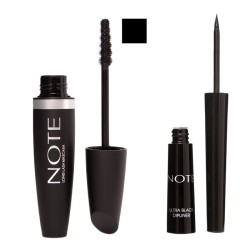 NOTE - NOTE LONG LASH MASCARA BLACK+DIPLINER BLACK