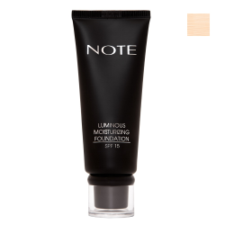 NOTE - Note Luminous Mousturizing Fondöten Spf15 Beige 01 35Ml