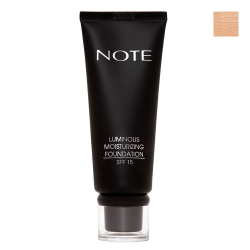 NOTE - Note Luminous Mousturizing Fondöten Spf15 Sand 04 35Ml