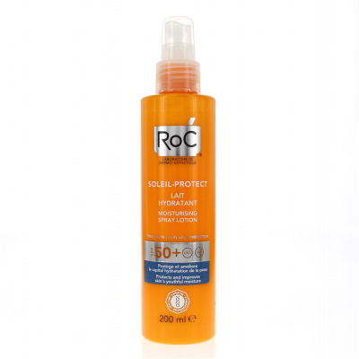 Roc Soleil Protect Spray Lotion Spf50 200Ml